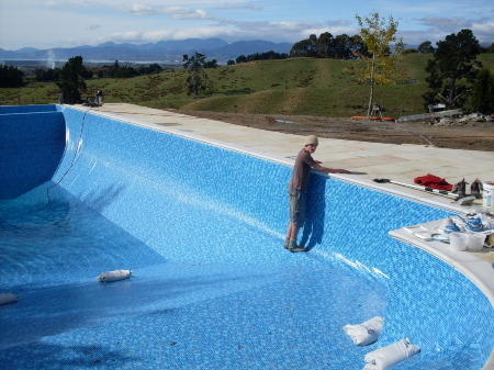 Choose a grace pool for style bright water pools for Garden pool liners nz